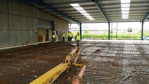 Concrete steel reinforcement