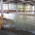 Concrete floor Skeg Casino