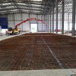 Logicor - Steel Mesh & Concrete Pump