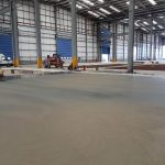 Logicor concrete floor - power float
