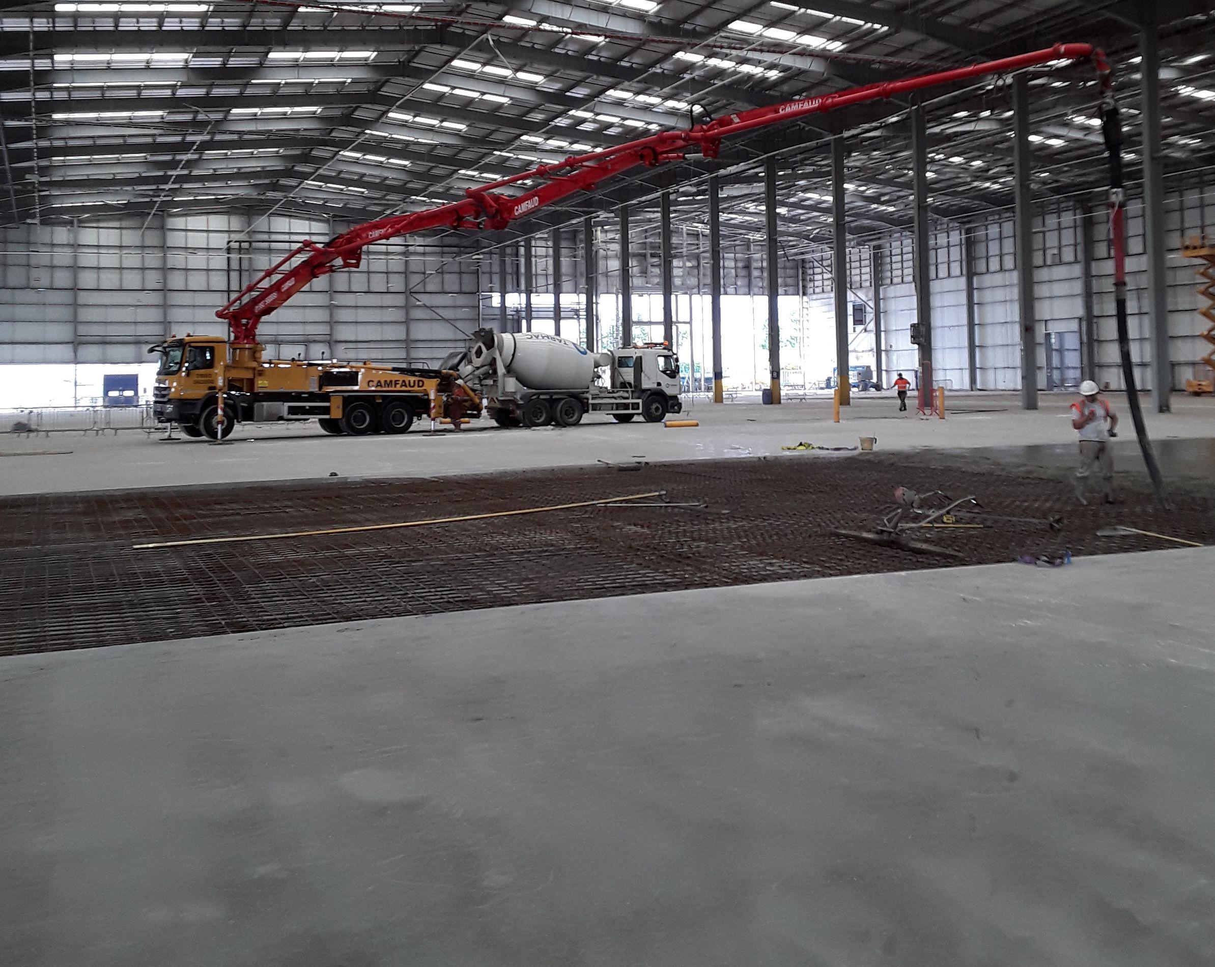 SJ Stanberry & Sons Ltd - concrete suppliers