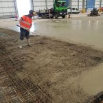 Logicor concrete in progress