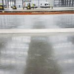 Logicor level concrete floor